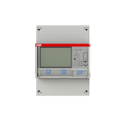 ABB - Трифазен електромер ИНДИРЕКТНО мерене на ел.енергия Modbus, еднотарифен, 4 мод, MID сертификат DIN монтаж 2CMA100178R1000