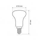 ULTRALUX - LGR5051427 - LED рефлектор R50 5W, E14, 2700K, 220V, топла светлина (1)