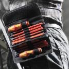 WERA - Комплект ръкохватки Kraftform Kompakt VDE (2 бр) 60I+IS/62I/65I/67I/17 с изолирани накрайници (17 части) (2)