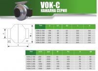 MMOTORS - Канален турбинен вентилатор ВОК-С 250 (1)