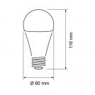 ULTRALUX - LB122742 LED КРУШКА 12W, E27, 4200К, 220V AC, НЕУТРАЛНА СВЕТЛИНА (1)
