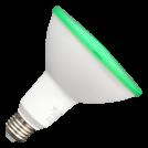 V-TAC - LED Крушка - 15W PAR38 E27 IP65 Зелен SKU: 4418 VT-1125