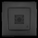 VIKO - Бутон за звънец LINNERA LIFE черно 90404006-BG