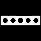 VIKO - Петица рамка хоризонтална Rollina бял 90480055