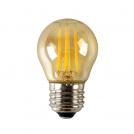 ACA LIGHTING - LED крушка кехлибар димираща топка FILAMENT E27 6W 2700K 540lm GLAMO6WWDIMAM