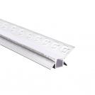 ACA LIGHTING - Алуминиев профил за лед лента за вграждане вътрешен ъгъл 2м. P123