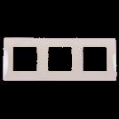LEGRAND - Тройна рамка NILOE 665013 крем