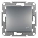 SCHNEIDER ELECTRIC - Бутон със символ звънец стомана Аsfora EPH0800162