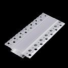 ELMARK - 2m. DP65 АЛУМИНИЕВ ПРОФИЛ ЗА LED ЛЕНТА ЗА ВГРАЖДАНЕ В ГИПС 99ACC65