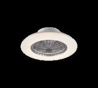 TRIO - Таванен вентилатор със осветление STRALSUND – R62522187