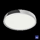 LUXERA - LED панел 18W влагозащитен IP44 външен монтаж LENYS  49026 хром