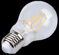 V-TAC - LED Крушка - 4W Filament E27 A60 Топло Бяла Светлина SKU: 4259 VT-1885