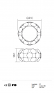 REDO GROUP - Плафон JOY 01-726 PL 5X23W E27 D41  (2)
