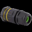 ULTRALUX - KW4PM20 НОВО Влагозащитен конектор M20, 4 пина, IP68
