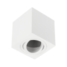 GTV Lighting - Луна за открит монтаж квадратна бяла AVEIRO OS-AV8085KW1-10