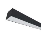 ELMARK - LED ПРОФИЛ ЗА ОТКРИТ МОНТАЖ S48 40W 4000K ЧЕРЕН 99SM1204040/BL