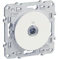 SCHNEIDER ELECTRIC - S520445 Розетка TV Odace бял
